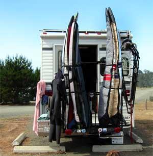 Surfingsports Com Wardog S Wheeless Trailer Vertical