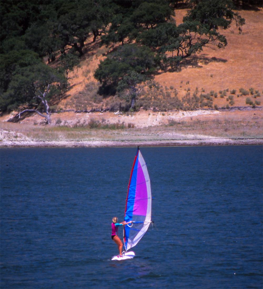 Windsurfing Lake Lopez
